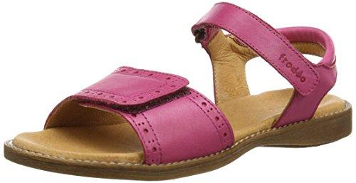 Froddo Girls Sandal Fuxia G3150090 - Sandalias Niñas Rojo (Fuxia)