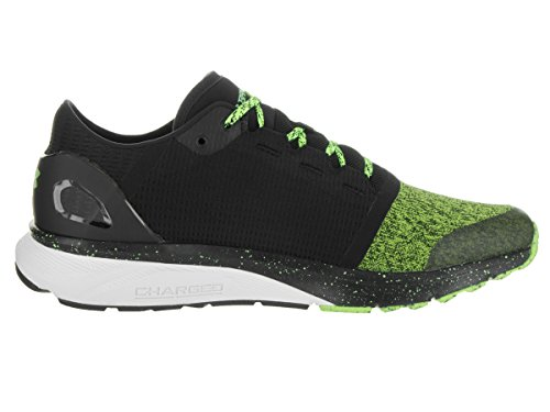 Under Armour Mens Laddade Bandit Två Hyper Grön / Svart / Hyper Green