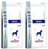 Royal Canin Veterinary Diet Dog - Renal 2 X 14kg For Dogs With Chronic Kidney Disease With High And Complete Relief Diet Advanced For Your Loved Pets Combined With Trixie Throwing Ball