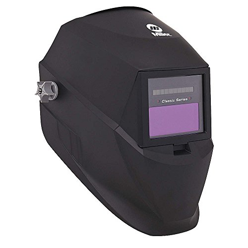 Welding Helmet, Shade 3 and 8-12, Black