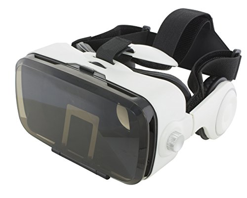 VR Headset with Remote and Built-in Headphones by Fine Life Audio Products