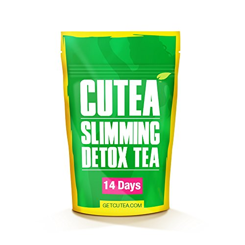 Skinny Fit Detox Tea for Weight Loss and Belly Fat - Herbal Tea for Bloating Relief, Metabolism Booster, Appetite Suppressant and Flat Stomach - 14 Day Teatox (The Best Detox Tea To Lose Weight)