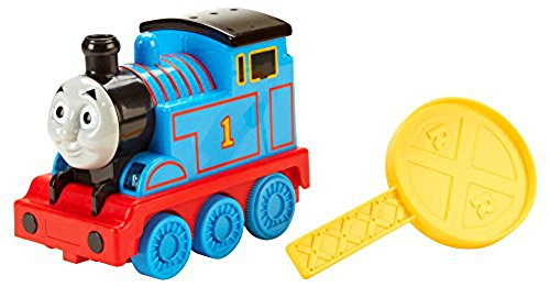 Thomas & Friends Motion Remote Control Thomas - Will move forward, backward and avoid obstacles – all at with the command of your hand! backward and avoid obstacles - all at with the command of your hand! Mattel CCX77 Fictional & Fantasy Characters