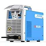 Mig Welder MIG-205 MIG TIG ARC Welding Machine Gas Gasless Welder 110/220V Dual Voltage Mig Welding Machine 3 in 1