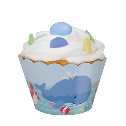 (Under the Sea Cupcake Wrappers,)