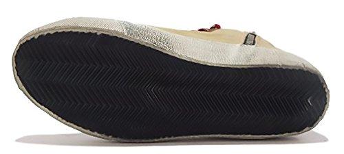 GOLDEN GOOSE Zapatillas de Tela Para Hombre Beige e Marrone