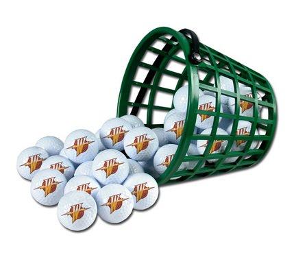 Wincraft NBA Golden State Warriors Bucket of 36 Golf Balls