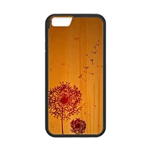 DaojieTM Generic Canting_good,dandelion, Custom Case for Iphone6 Plus 5.5 Inch(laser Technology)