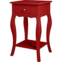 Altra Kennedy Accent Table, Red
