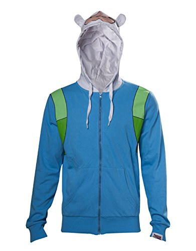 Adventure Time Hoodie Finn Inspired Cosplay Costume Official