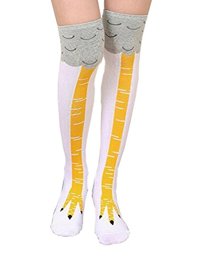 Chicken Leg Costumes - Crazy Funny Chicken Legs Knee-High Novelty