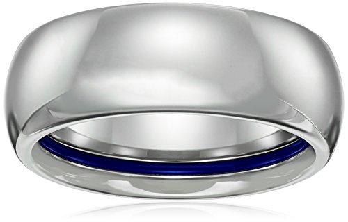 Sapphire Tungsten Classic Comfort Wedding