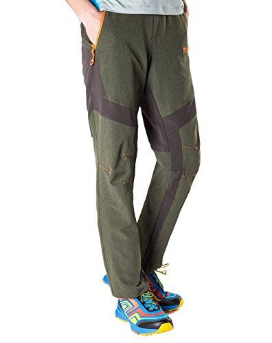 Zip Off Pants Olive - 5