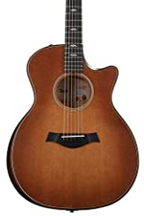 6-string Acoustic-electric Guitar with Torrefied Sitka Spruce Top, Figured Bigleaf Maple Back and Sides, Maple Neck, Ebony Fingerboard, and Taylor ES2 Electronics - Wild Honey Burst