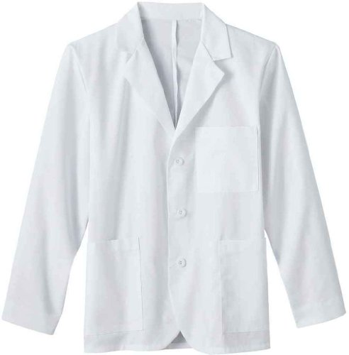 META Labwear Men's 6-Pocket Consultation Lab Coat - Pocket Coat Consultation