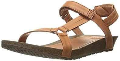 Teva Women's W Ysidro Universal Sandal, Cognac, 6 M US