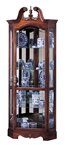 - Howard Miller 680-205 Berkshire Curio Cabinet by