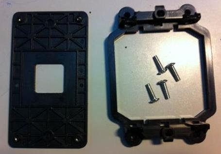 AMD [Back Plate and Four Screws Included] CPU Fan Bracket Base for AM3 - Plate Advanced Base