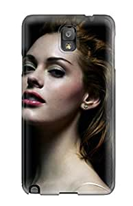 Fashionable ETQeIsF5295cefoS Galaxy Note 3 Case Cover For Rose Mcgowan Celebrity People Celebrity Protective Case
