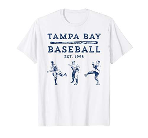 Classic Tampa Bay Baseball Fan Retro Vintage T-Shirt