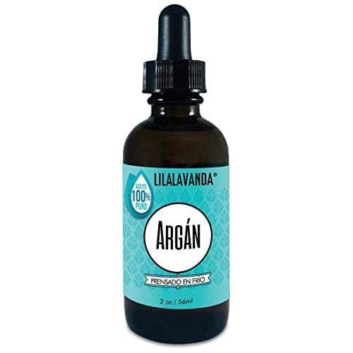 LilaLavanda - Aceite de Argan 100% natural y puro, sin rellenos, sin aromas añadidos, virgen, prensado en frío, crudo, aceite facial antiedad, aceite para cabello. Argan oil de Morocco - 59 ml