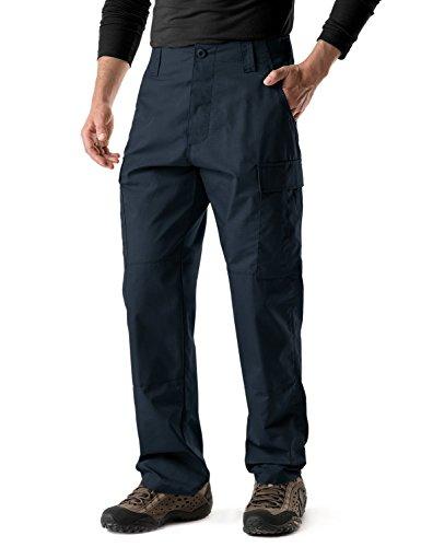 6 Pocket Emt Pant - CQR CQ-UBP01-NVY_M/Long Men's BDU Rip Stop Trouser EDC Tactical Combat Pants UBP01