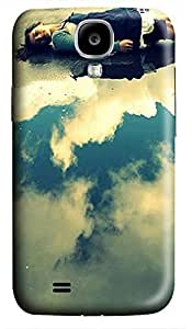 free Samsung S4 case Sleeping On Clouds 3D cover custom Samsung S4