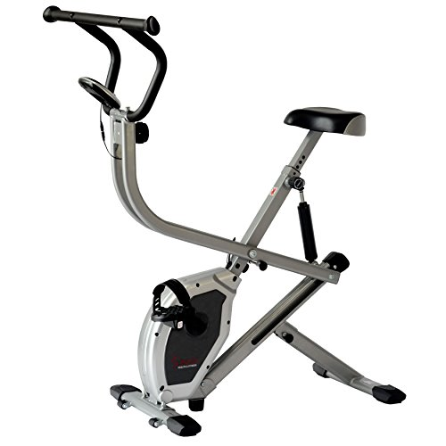 Sunny Health & Fitness Exercise Bike 2-in-1 Upright Bike and Rowing Machine – SF-B2620