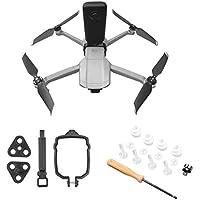 Hensych 1 zestaw adapter złącza kamery zestaw montażowy do dronów Mavic Air 2, panoramiczny i sportowy aparat stały…
