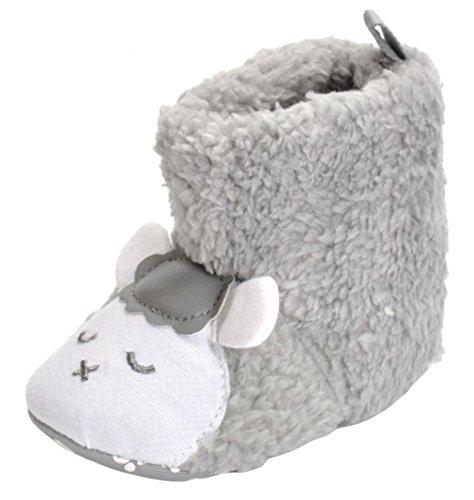 3aa7572e5d2cd  ラボーグ  ベビーシューズ 子供靴 ブーツ キッズ ファーストシューズ 赤ちゃん ルームシューズ もこもこ 新生児