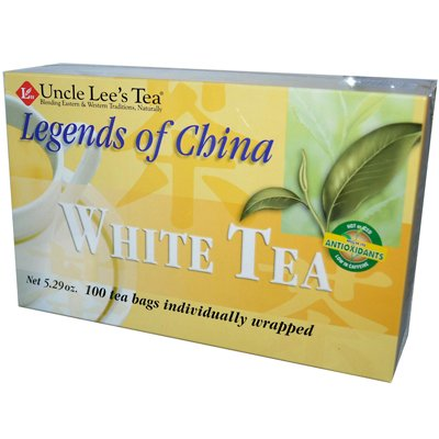 (Uncle Lee's Legends Of China White Tea - 100 Tea Bags - (Pack of 3))