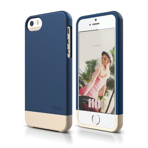 iphone-se-case-elagor-glide-limitedjean-indigo-champagne-gold-mix-and-matchpremium-armortrue-fit-for