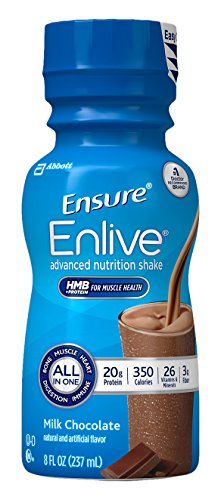 Ensure Enlive Nutrition Shake, Chocolate, 16 Count