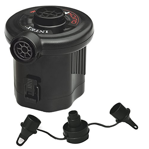 Intex Quick-Fill Battery Air Pump (6 C-cell Battery), Max. Air Flow 13.4CFM (Pool Float Air Mattress)