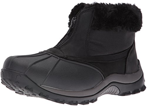 - Propet Women's Blizzard Ankle Zip Ii Winter Boot, Black/Nylon, 8 2E US
