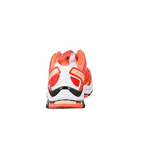 Salomon Damen Xa Pro 3d W Traillaufschuhe Levende Koraal / Wit / Papaverrood