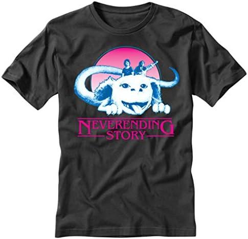 TeeINKS Stranger Things Neverending Story Black T Shirt / TeeINKS Stranger Things Neverending Story Black T Shirt