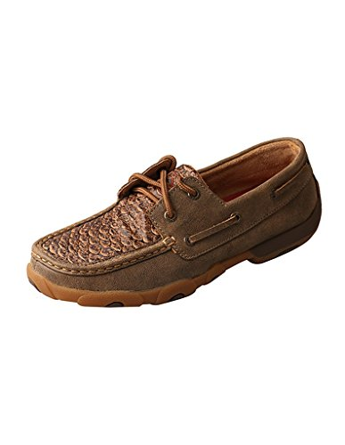 Bomber Twisted Fish Moccasins Ladies Brown Driving X gZCwqAF