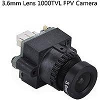 Crazepony 1000TVL FPV Camera 3.6mm Wide Angle Lens CMOS NTSC PAL for QAV250 Multicopter