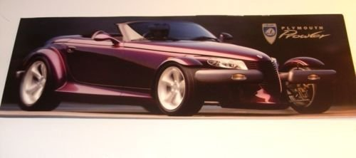 1997 Plymouth Prowler Original Dealer Sales Brochure