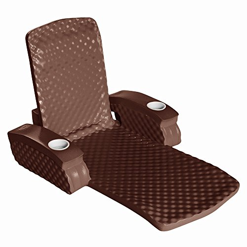California Sun Deluxe Unsinkable La Jolla Lounger - Foam Cushion Pool Chair - (California Pool)