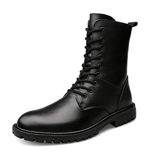 [ムリョシューズ] 靴 メンズ靴 ブーツ サイドゴア 超軽量 ブーツ メンズ メンズブーツ エンジニアブーツ フェイクレザー サイドゴア 上品 おしゃれ かっこいい モテ靴 定番 黒 ブラック 黒/ブラック 26.5cm メンズ靴 紳士靴 マーティンブーツ ブーツ レインブーツ