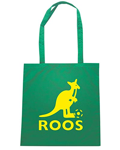 Speed Shirt Borsa Shopper Verde WC0199 AUSTRALIA SOCCEROOS
