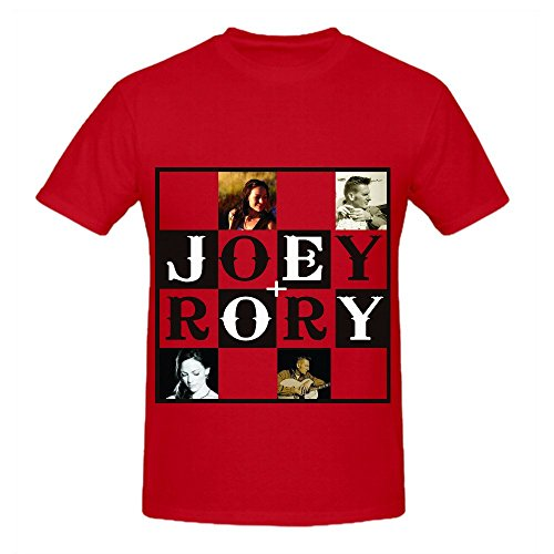 joey-rory-enough-men-o-neck-custom-shirts-red