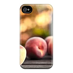 TerryMacPhail Premium Protective Hard Cases For Iphone 6- Nice Design - Food And Drink Peaches