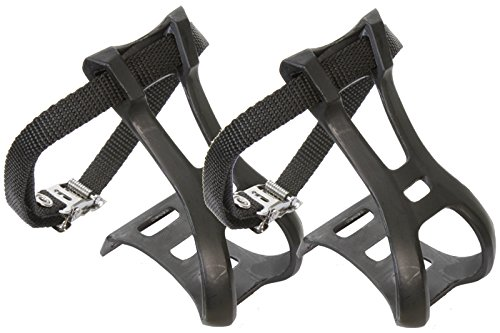 (Sunlite ATB Toe Clips and Straps, Large)