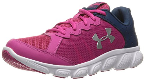 Under Armour Ua Gps Assert 6, Zapatillas de Running para Niñas, Rosa (Tropic Pink 654), 29 EU