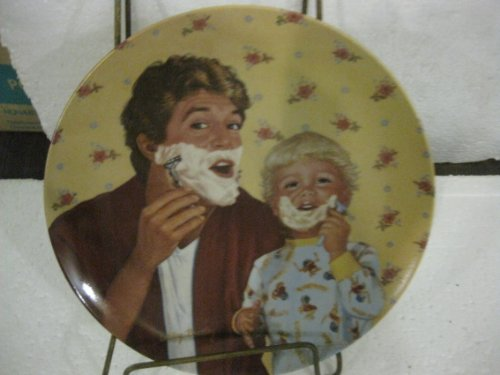 Knowles; Little Shaver by Betsy Bradley; Fathers Love Series 1985 Collector Plate ()