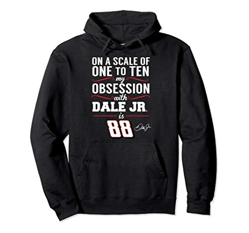 Dale Earnhardt Jr. Obsession Level Hoodie - Apparel Dale Earnhardt Jr Apparel