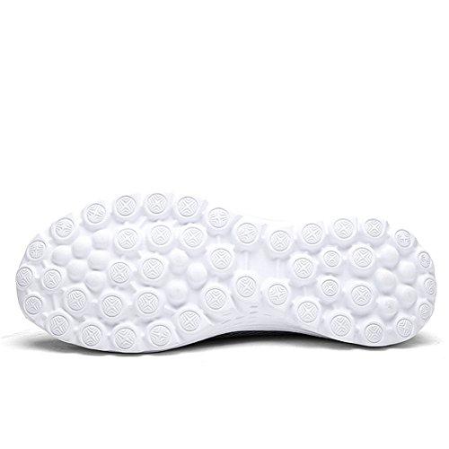 Lässige Hellgrau Paar Mode Sport Mesh Herren Unisex Atmungsaktive SEVENWELL Frauen Schuhe Turnschuhe w7q6PcI